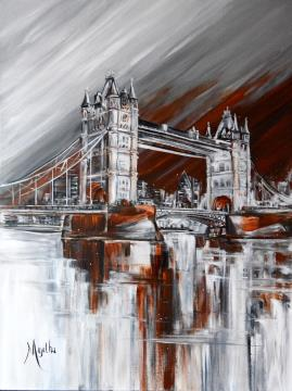 Image de la toile « Tower Bridge » de Myrtha Pelletier